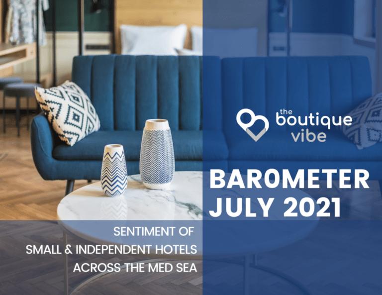 Barometer – Hoteliers Sentiment in Summer 2021
